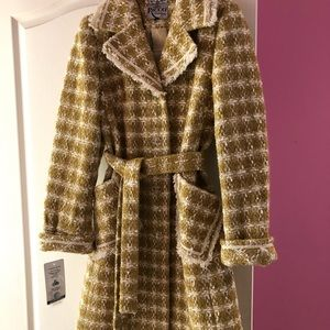 NWTS Ricco coat with wrap belt size S timeless!
